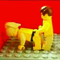 klocki lego i smartfon